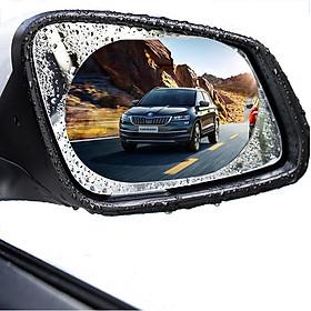 Miếng dán chống đọng nước mưa gương chiếu hậu xe hơi