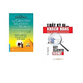 Combo 2 cuốn sách: Người Bán Hàng Vĩ Đại Nhất Thế Giới - tập 2 + Biến Bất Kỳ Ai Thành Khách Hàng