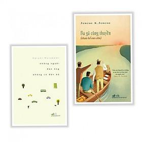 [Download Sách] Combo Sách Hay: Những Người Đàn Ông Không Có Đàn Bà + Ba Gã Cùng Thuyền - Tặng Bookmark Aha