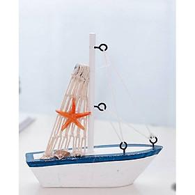 Tượng trang trí thuyền Địa Trung Hải 11.5x12.5x3cm (Chọn hình)