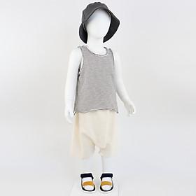Set bộ quần áo bé trai ba lỗ (Set 77) - Nhập khẩu Hàn Quốc-0