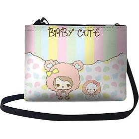 Túi Đeo Chéo Nữ In Hình Baby'S Cute - TUCT216 (24 x 17 cm)