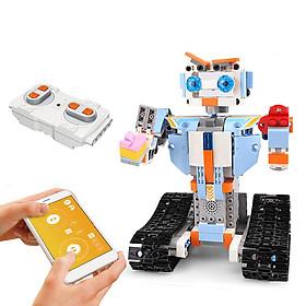2.4GHz Remote Control Robot RC Building Block Robot App Controlled Educational RC Robot Bricks STEM Toys Construction