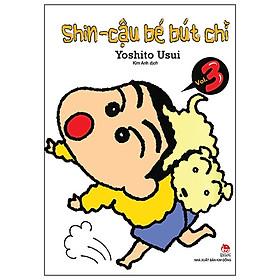 Shin - Cậu Bé Bút Chì - Tập 3 (Tái Bản 2019)