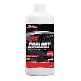 Nước làm mát động cơ ô tô Focar Red Coolant 1L