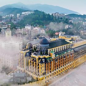 Hotel De La Coupole 5* Sapa - Nghỉ Dưỡng 2N1Đ Sang Trọng, Buffet Sáng, Hồ Bơi Trong Nhà, Ngay Trung Tâm