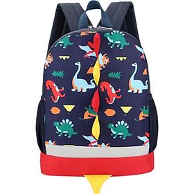 Baby Girls Bag Backpacks Large Capacity Waterproof Bag Backpack Cartoon Dinosaur Toddler Outgoing Bags