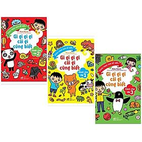 Combo 3 cuốn sách kiến thức bách khoa cụa hưc ích dành cho bé: Gi Gỉ Gì Gi Cái Gì Cũng Biết - Dành Cho Lớp 1 + Gi Gỉ Gì Gi Cái Gì Cũng Biết - Dành Cho Lớp 2 + Gi Gỉ Gì Gi, Cái Gì Cũng Biết - Dành Cho Lớp 3