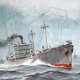 Mô hình giấy tàu thuyền quân sự Victory Ship SS Mexico Victory VC2-S-AP3