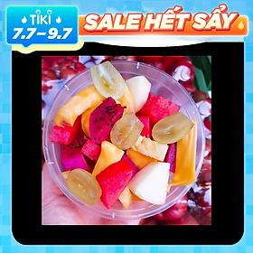 [Chỉ giao HN] - Trái cây tô dầm sữa chua