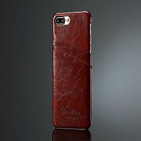 Ốp Lưng Da PU Cho iPhone 7 Plus/iPhone 8 Plus