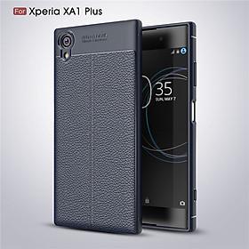 Ốp lưng dành cho Sony Xperia XA1 Plus silicon giả da, chống sốc chính hãng Auto Focus - Hàng nhập khẩu