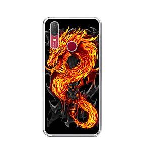 Ốp lưng dẻo cho điện thoại Vivo Y11 - 0218 FIREDRAGON - Hàng Chính Hãng