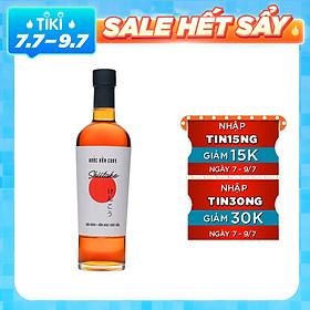 Nước mắm chay Shiitake chai 500ml - đậu nành và nấm ngọt Nhật Bản
