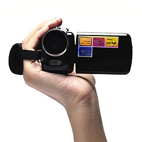 Handheld Home Digital Video Camera Camcorder DV 4x Digital Zoom HD 1080P Night Vision Recording Camera