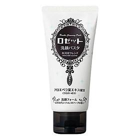 Sữa Rửa Mặt Dưỡng Ẩm Rosette Face Wash Pasta Glacial Clay Cleanser (120g)
