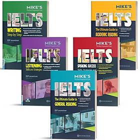 Sách - Combo Sách 4 Kỹ Năng Ielts Mike - Luyện Thi Ielts Học Thuật