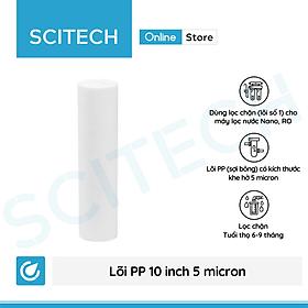 Lõi PP 10 inch 5 micron - Lõi số 1 máy lọc nước Nano/UF/RO, bộ lọc thô - Hàng chính hãng