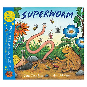 Superworm (Book With Cd)