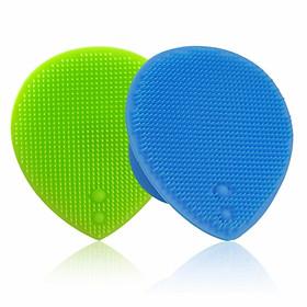 Dụng cụ rửa mặt và massage dạng silicon mềm dẻo Suri cao cấp Hàn Quốc – Hàng chính hãng