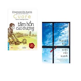 Combo 2 cuốn sách:  Tâm Hồn Cao Thượng (bìa mềm) + Ngoài kia, trời rất xanh
