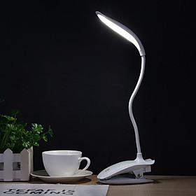 Đèn LED Kẹp Bàn Sạc Điện (16 Bóng Đèn LED)