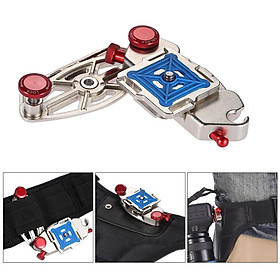 Quick Release Waist Belt Backpack Strap Buckle Clip Mount Holder Hanger Fast Loading Adapter for Nikon Canon Sony Pentax