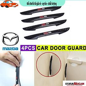 Mazda】Bộ 4 miếng dán cửa chống xước cửa va đập ô tô Chưa Có Đánh Giá Dán cửa ô tô chống xước Bảo Hành Uy Tín Lỗi 1 Đổi 1