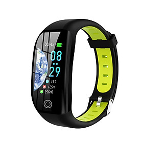 F21 Smart Bracelet 1.14'' TFT Screen BT4.0 Smart Watch Heart Rate Blood Pressure Sleep Monitoring IP68 Waterproof Smart