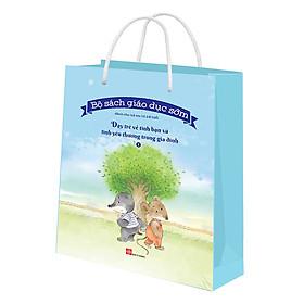 Bộ Túi 1 - Bộ Sách Giáo Dục Sớm Dành Cho Trẻ Em Từ 2-8 Tuổi - Dạy Trẻ Về Tình Bạn Và Tình Yêu Thương Trong Gia Đình (6 Cuốn)