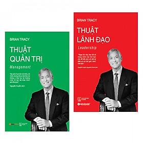 Combo sách quản trị lãnh đạo hay: Thuật quản trị - Management + Thuật lãnh đạo - Leadership - Tặng kèm bookmark thiết kế