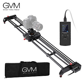 GVM GR-120QD 120cm Motorized Photography Camera Slider Track Dolly Video Stabilizer Rail Carbon Fiber & Aluminum Alloy