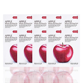 Combo 8 gói tẩy da chết sáng da sạch mụn Apple White Peeling Gel minisize