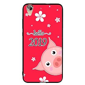 Ốp Lưng Viền TPU cho điện thoại Huawei Y6 II - Pig 2019 Mẫu 2