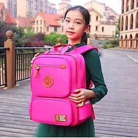 Balo học sinh Zhihuiwangzi cho bé gái (hồng)