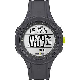 Timex TW5M14500 Ironman Essential Urban Digital 43mm Watch (Gray/Lime)