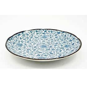 Đĩa Sứ Ceramic Họa Tiết Trang Trí - Nội Địa Nhật Bản - 1 đĩa