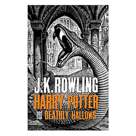 Harry Potter Part 7: Harry Potter And The Deathly Hallows (Hardback) (Harry Potter và Bảo bối tử thần) (English Book)
