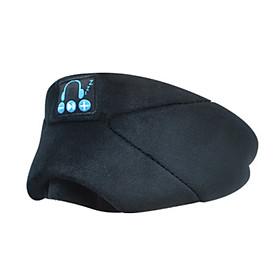 Bluetooth 5.0 Sleep Aid No Pressure for Ear Music Call Headset Sleeping Eyeshade