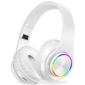 Tai Nghe Chụp Tai Bluetooth B39 Hỗ Trợ Thẻ Nhớ, Dây 3.5mm, Đài FM - Hàng Nhập Khẩu