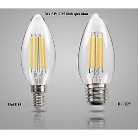 Bóng đèn Led Edison C35 4W hình quả nhót đui E14