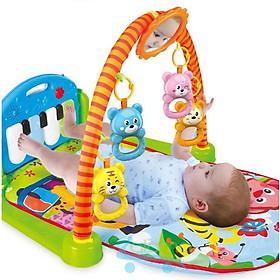 Giường phát nhạc vui nhộn cho bé