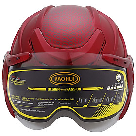 Mũ Bảo Hiểm Napoli N106K - Đỏ