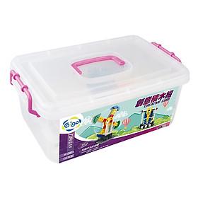 Hình đại diện sản phẩm Đồ Chơi Dạy Học Gigo Toys Miếng Ghép Sáng Tạo - Creative Cube 1260 (314 Mảnh Ghép)