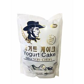 Bánh sữa chua (Yogurt Cake) SBS vỏ ngoài giòn xốp bao bọc lớp nhân sữa chua bên trong, vị ngon rất độc đáo (250g)
