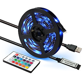 Dây Đèn LED Siêu Sáng 5050 RGB Chống Nước Quấn Cây Trang Trí Ngoài Trời