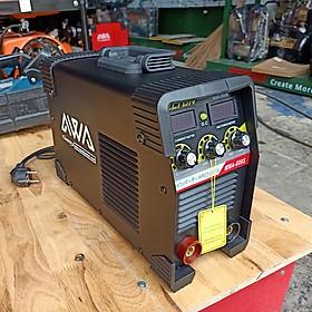 Máy hàn que hồng ký AWA delton 600 dùng điện gia đình 220V chính hãng - công nghệ jasic JAPAN 3 nút điều chĩnh