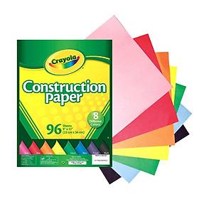 Giấy Thủ Công Trẻ em Crayola (96 tờ) 99-3000