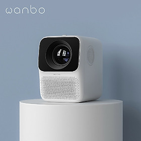Xiaomi Youpin Wanbo Projector T2 Free 1080P 150ANSI LCD 40-120inch Projection Vertical Keystone Correction Portable Mini