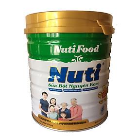 2 Hộp Sữa bột nguyên kem của NutiFood 900 Gr